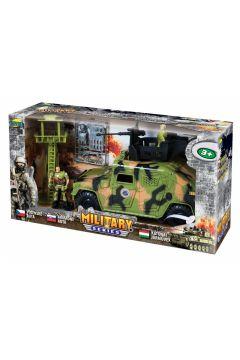 Zestaw wojskowy military w pudełku 02568