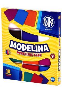 Modelina 12 kolorów ASTRA