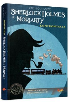 Komiksy paragrafowe. Sherlock Holmes & Moriarty. Konfrontacja