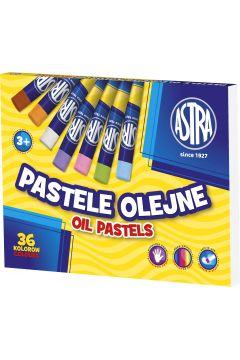 Pastele olejne 36 kolorów ASTRA