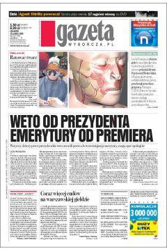 Gazeta Wyborcza - Toruń 295/2008