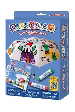Farby do szyb 6 kolorów + parasolka