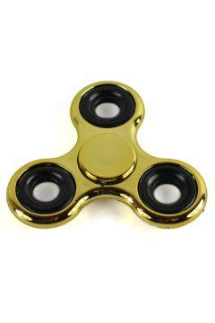 Fidget Spinner stalowy połysk metalic złoty