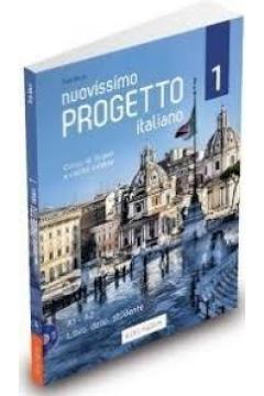 Nuovissimo Progetto italiano 1. Podręcznik A1 - A2 + DVD