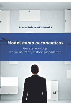 Model homo oeconomicus