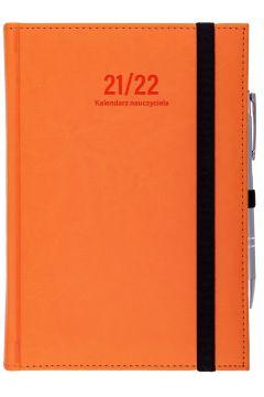 Kalendarz nauczyciela B6 2021/2022 dz pomarańczowy