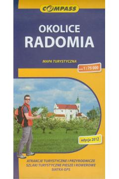 Mapa turystyczna - Okolice Radomia 1:75 000