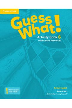 Guess What! Level 6 Activity Book with Online Resources British English