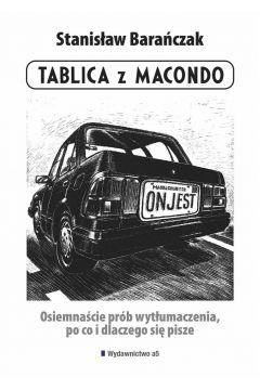 Tablica z Macondo