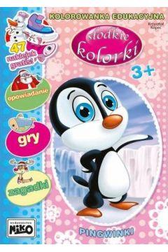 Pingwinki. Słodkie kolorki