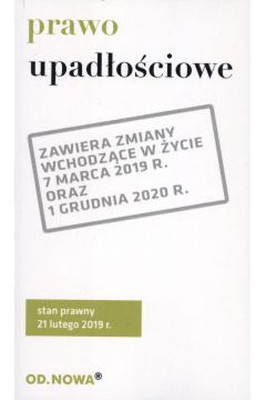 Prawo upadłościowe broszura 2019