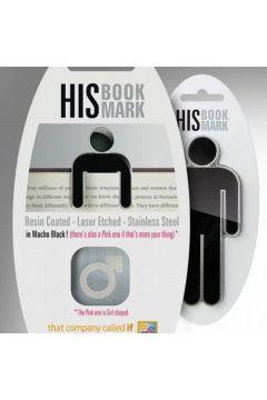 Metalowa zakładka do książki - His Bookmark