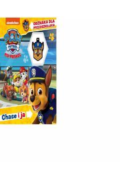 Książeczka edukacyjna 225X270 Psi Patrol Chase I Ja  odznaka 572828 ZAWADA