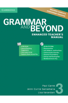 Grammar and Beyond 3 Enhanced Teacher's Manual with CD-ROM