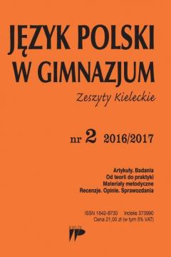 Język Polski w Gimnazjum nr 2 2016/2017