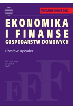 Ekonomika i finanse gospodarstw domowych