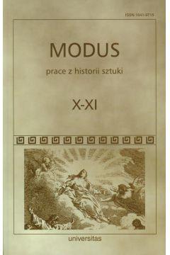 Modus Prace z historii sztuki Tom X-XI