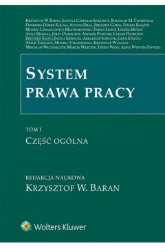 System prawa pracy T.1 Część ogólna