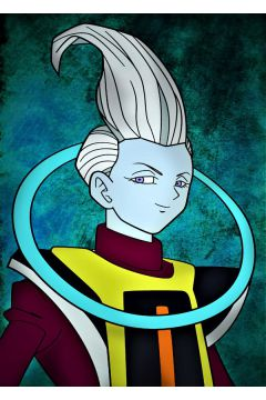 Dragon Ball - Whis - plakat