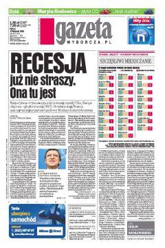 Gazeta Wyborcza - Opole 266/2008