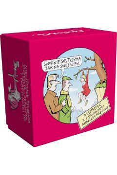 Kubek w pudełku andrzej mleczko świetnie się trzyma ona