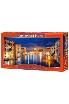 Puzzle 600 The Grand Canal by night,Venice CASTOR