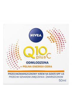Przeciwzmarszczkowy krem na dzień Q10 Plus C