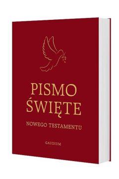 Pismo Święte Nowego Testamentu bordowe