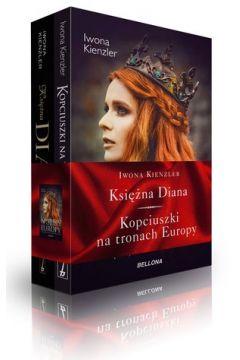 Pakiet: Księżna Diana/ Kopciuszki na tronach..