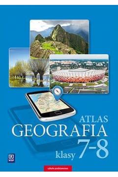 Geografia atlas dla klasy 7-8 szkoły podstawowej 178104