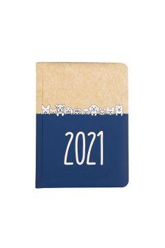 Kalendarz tygodniowy B6 2021 Kraft pies