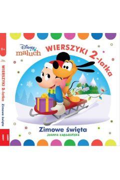 Disney Maluch. Wierszyki 2-latka. Zimowe święta