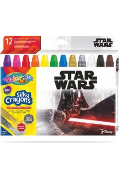 Kredki żelowe wykręcane Colorino Kids 12 kolorów Star Wars