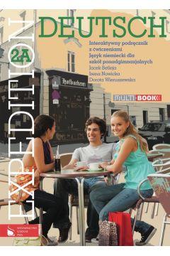 Expedition Deutsch 2A Multibook Interaktywny podręcznik z ćwiczeniami