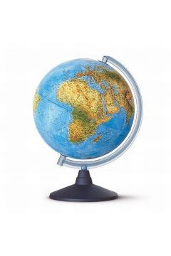 Elite globus podświetlany fizyczny 26 cm
