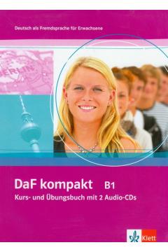 DaF kompakt B1 Kurs- und Ubungsbuch mit 2 CDs
