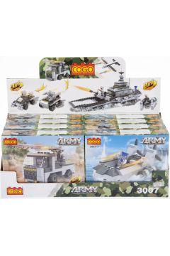 Klocki konstrukcyjne 90 elementów Wojsko MEGA CREATIVE 459941