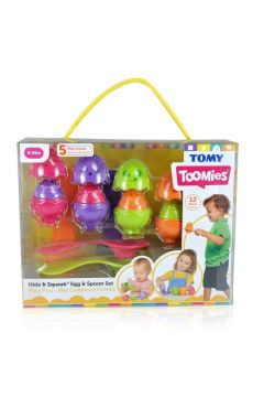 Jajeczka z łyżeczkami TOMY