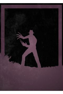 Dusk of Villains - Freddy Krueger, A Nightmare on Elm Street - plakat
