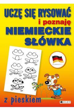 Uczę się rysować i poznaję niemieckie słówka z pie