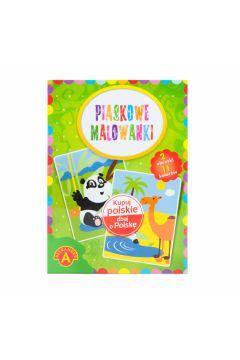 Piaskowe malowanki panda/wielbłąd