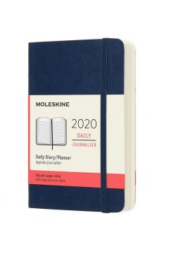 Kalendarz 2020 dzienny 12MP mo. Sapphire blue