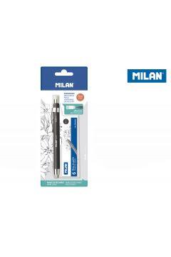 Ołówek mechaniczny Kubuś 5,2 mm + grafity 6 sztuk