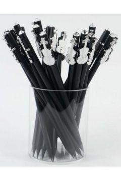 Ołówek ze skrzypcami białymi
