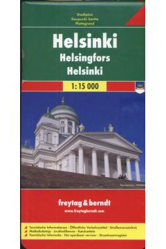 Helsinki mapa 1:15 000