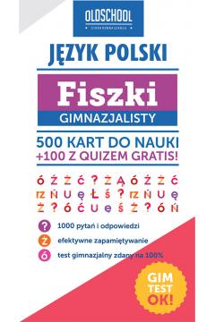 Język polski Fiszki gimnazjalisty