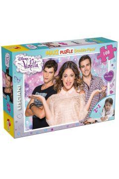 Violetta. Puzzle Dwustronne Maxi 108 43552