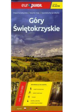 Góry Świętokrzyskie mapa turystyczna 1:120 000 laminowana