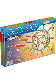 Geomag Confett. Klocki magnetyczne. 127 elementów