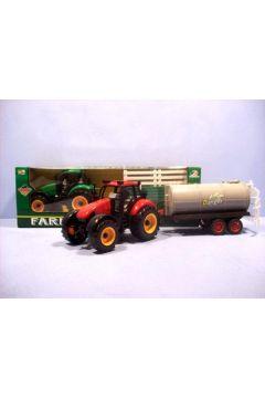 Traktor z przyczepą w pud.   HIPO